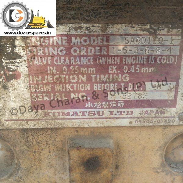 Komatsu Engine