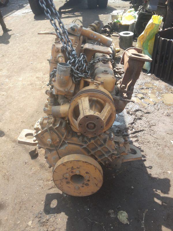 Old komatsu engine
