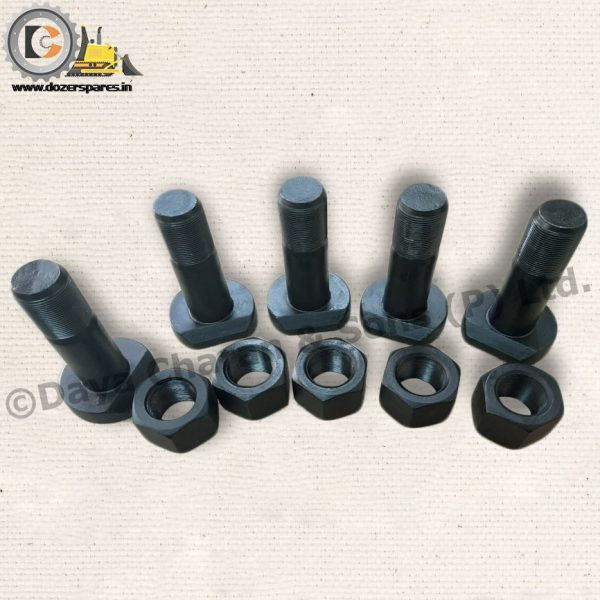 segment bolt and nut, segment bolt and nut for bulldozer