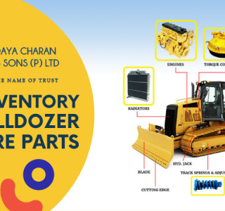 Huge inventory of Bulldozer spare parts
